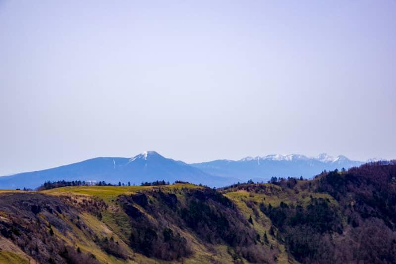 日本百名山の三分の一の山を一望できる長野の中心「美ヶ原」