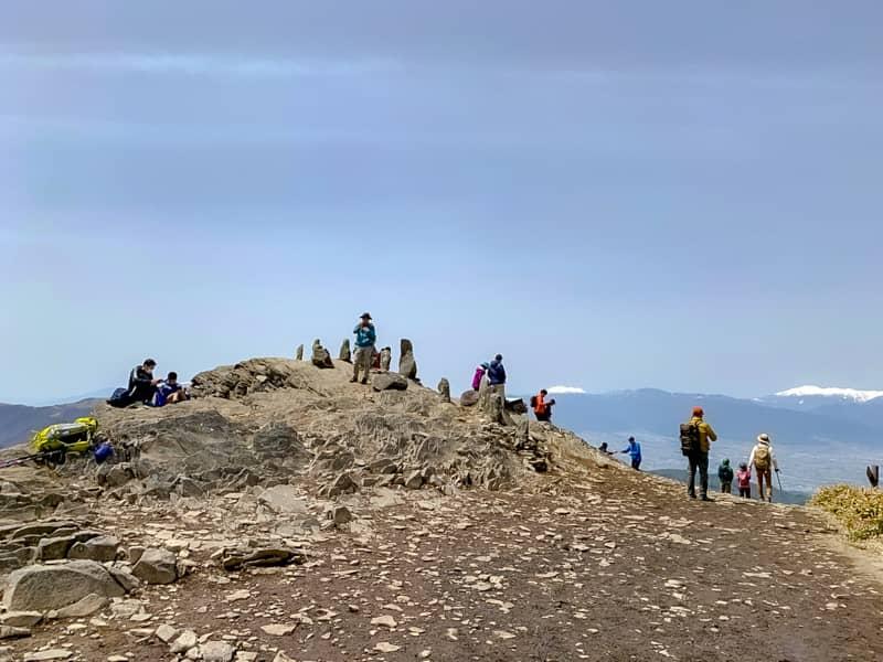 日本百名山の3分の1の山々を一望できてしまう