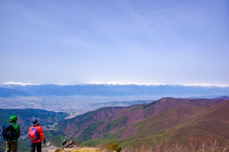 日本百名山の3分の1を一望できる360度パノラマビューの絶景