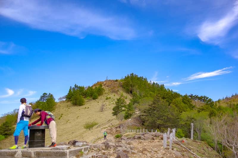 登山のイメージを覆す山です