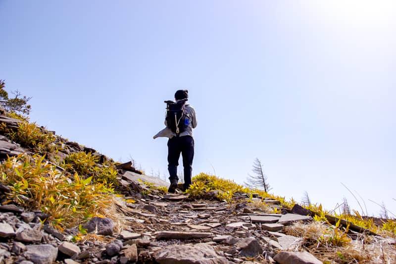 登山初心者でも問題なく登れる難易度