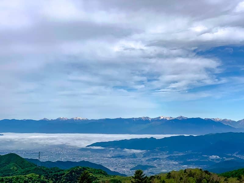 稜線と富士山だけではなく