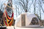 長野県塩尻市の大自然に恵まれたグランピング施設「GLAMPING BASE enCamp」オープン!
