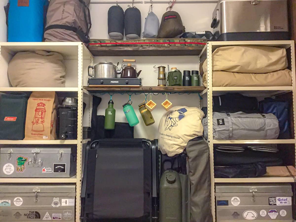 いつの間にか使わなくなったキャンプ道具を紹介します【お蔵入りギア14選】