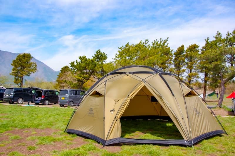 キャンプ場に家を建てたい!そんな貴方にオススメのテントです