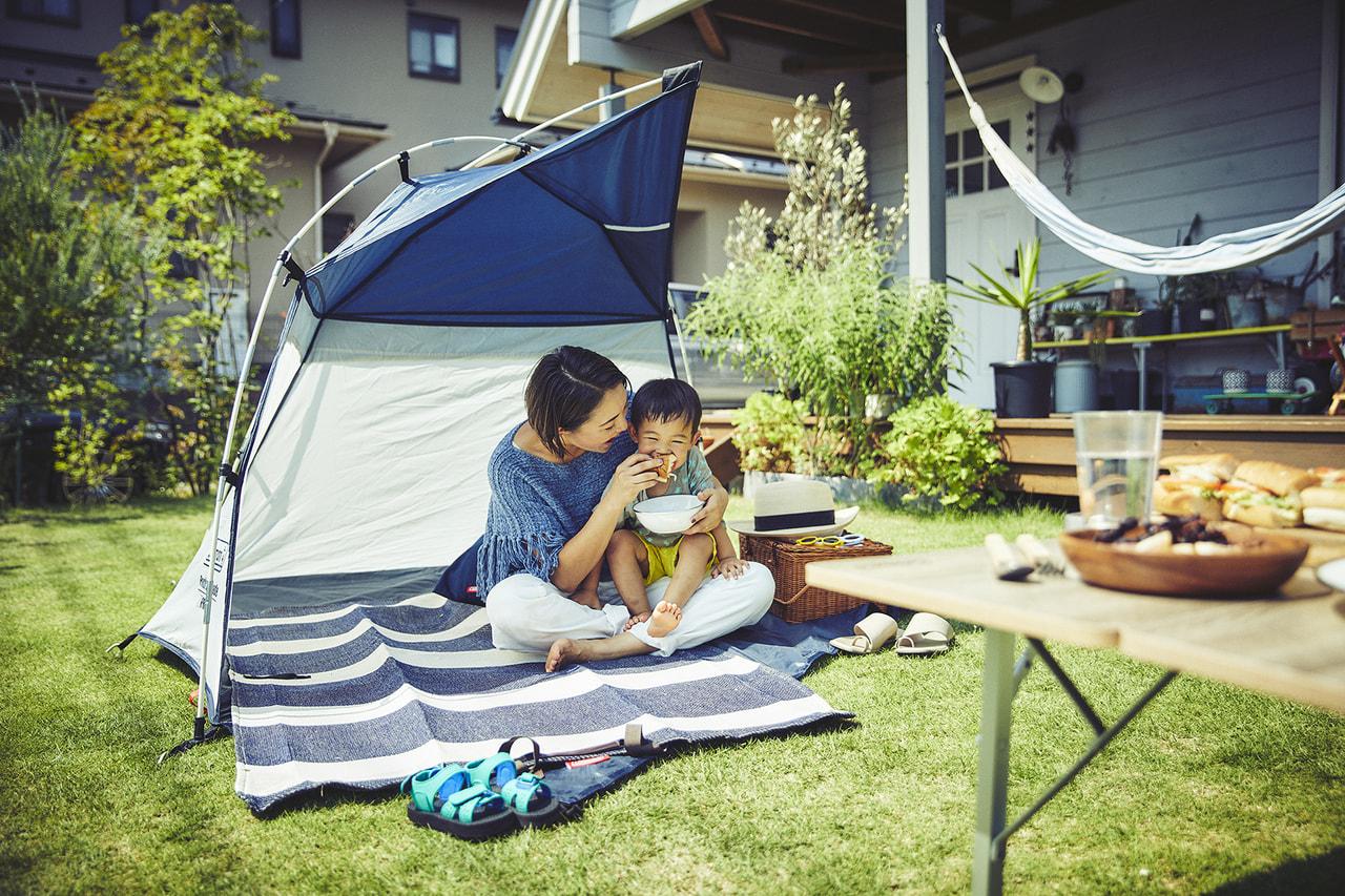 おうちキャンプに最適!コールマンの新型コンパクトシェード&シェルターは小さな優等生