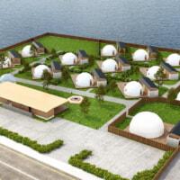 福岡・玄界灘を望むグランピング施設が2021年8月2日グランドオープン!