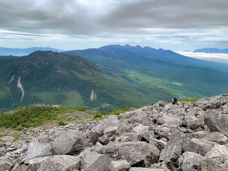 北横岳やといった八ヶ岳連峰をはじめ