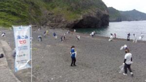 山口の海岸に約1,100人が集結!漂着ごみ7トンを市民の手で回収し、海の環境を守る
