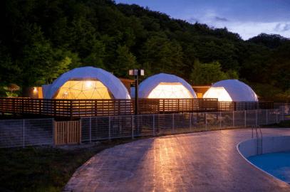 仙台市初ドーム型グランピング施設にプレオープンの期間限定でお得に宿泊しよう!