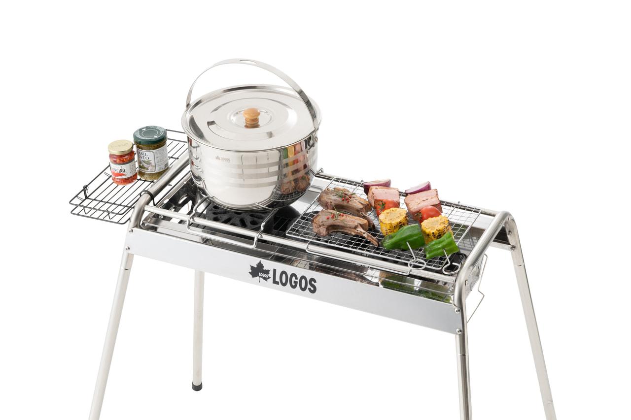 キャンプ料理をコンプリートできるロゴスの新製品「スリムチューブグリルL」が色々スゴい!