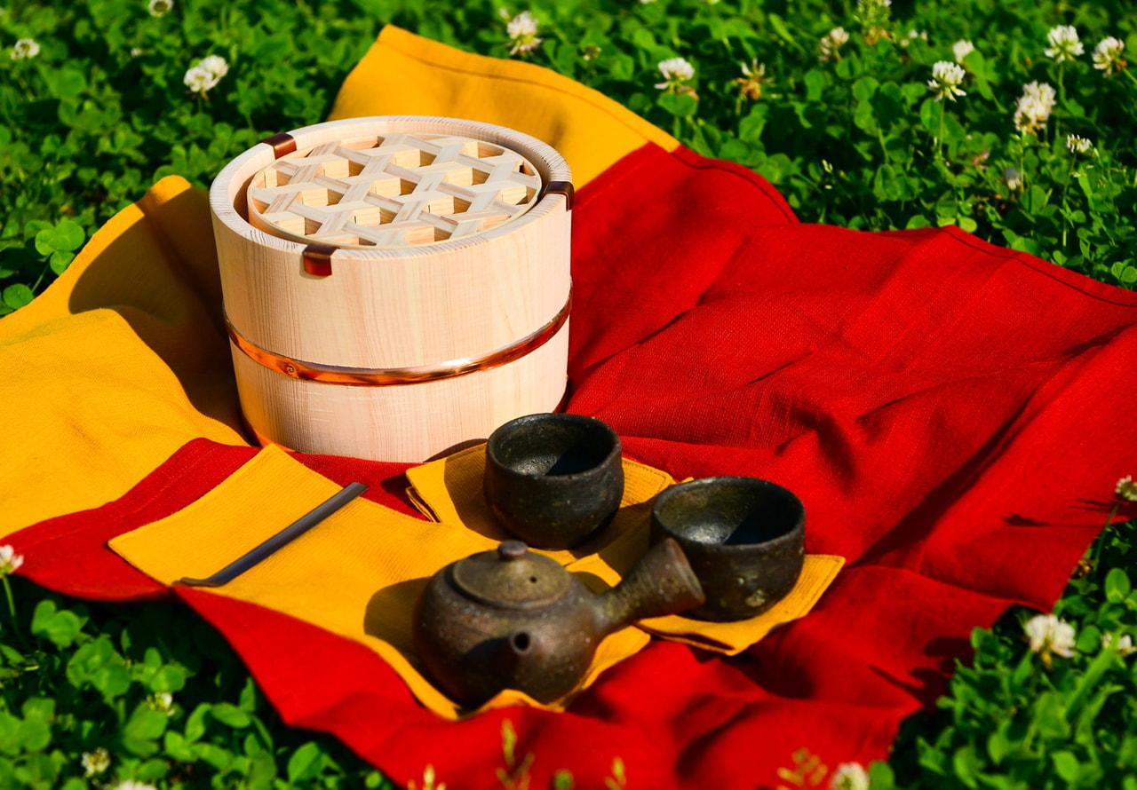 香川の伝統工芸で野点用茶箱を製作!アウトドアで中国茶はいかが?