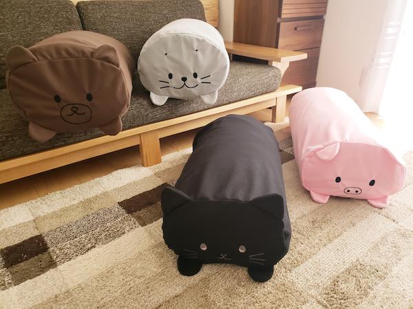 かわいい動物のふとん収納袋 (4)