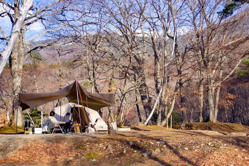 プライベート感重視なキャンプ場で大人キャンプを楽しもう