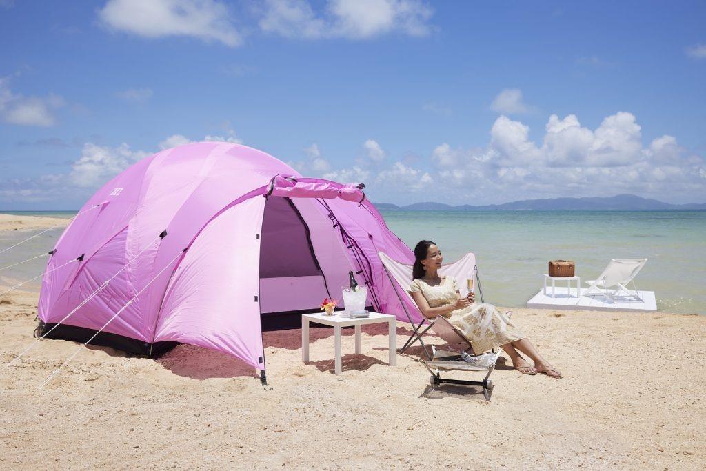 【1日1人限定】リゾナーレ小浜島で絶景ビーチを堪能できる完全ソロキャンプ体験プランが登場