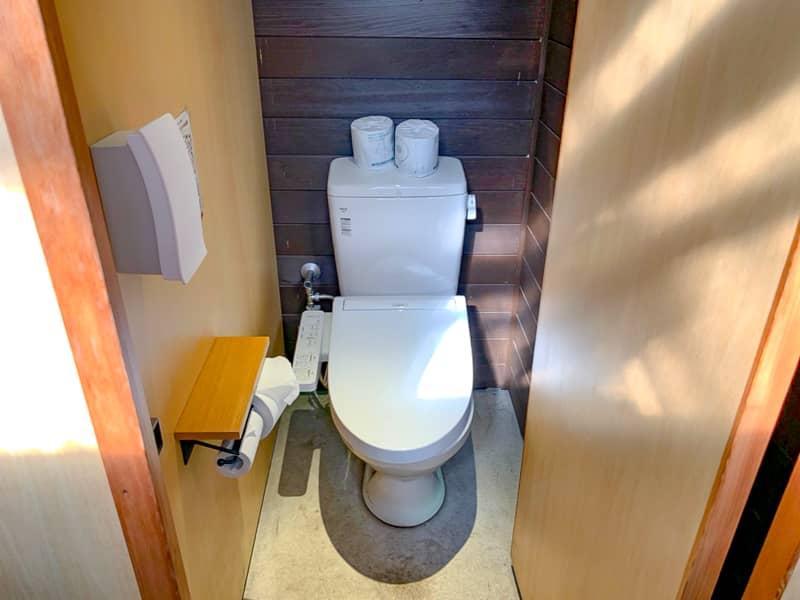 勿論トイレは大変綺麗で