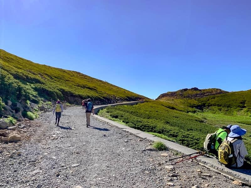 富士見ヶ丘の分岐までは、暫く整備された平坦な道を進みます