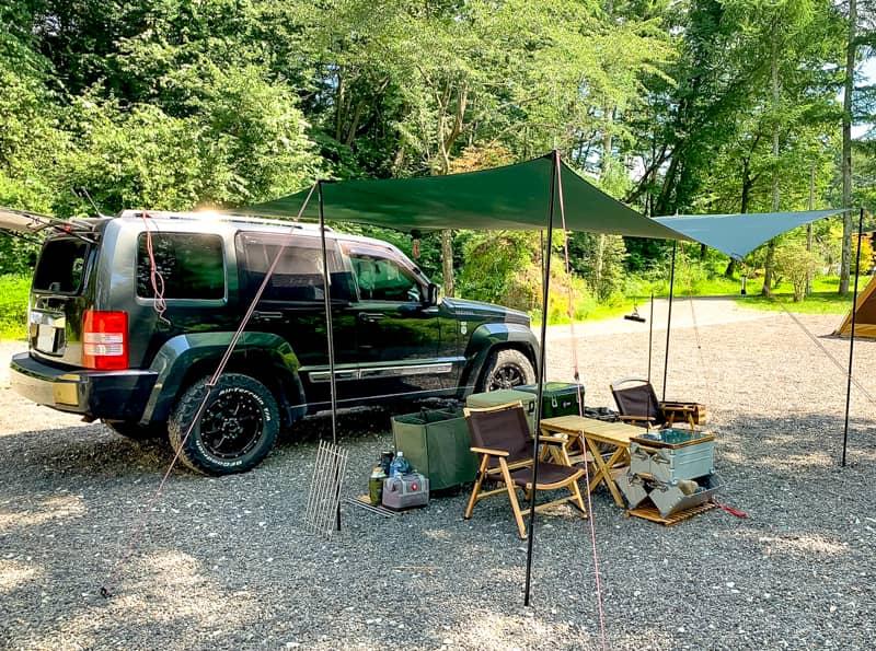 最新設備が充実した高規格サイトで夏のリゾートキャンプを満喫しよう