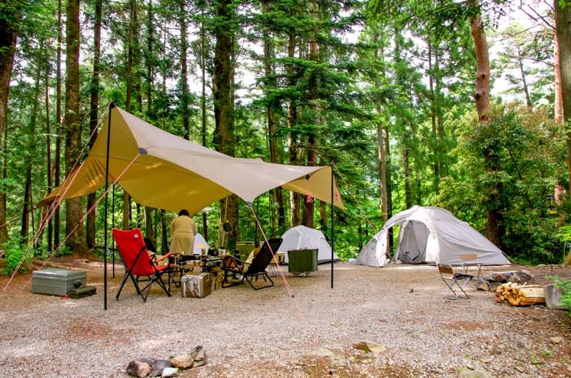 椿壮オートキャンプ場では