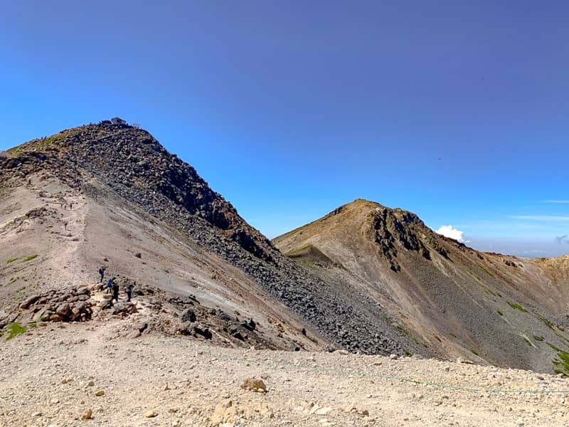 標高3000メートル級の景色は別格
