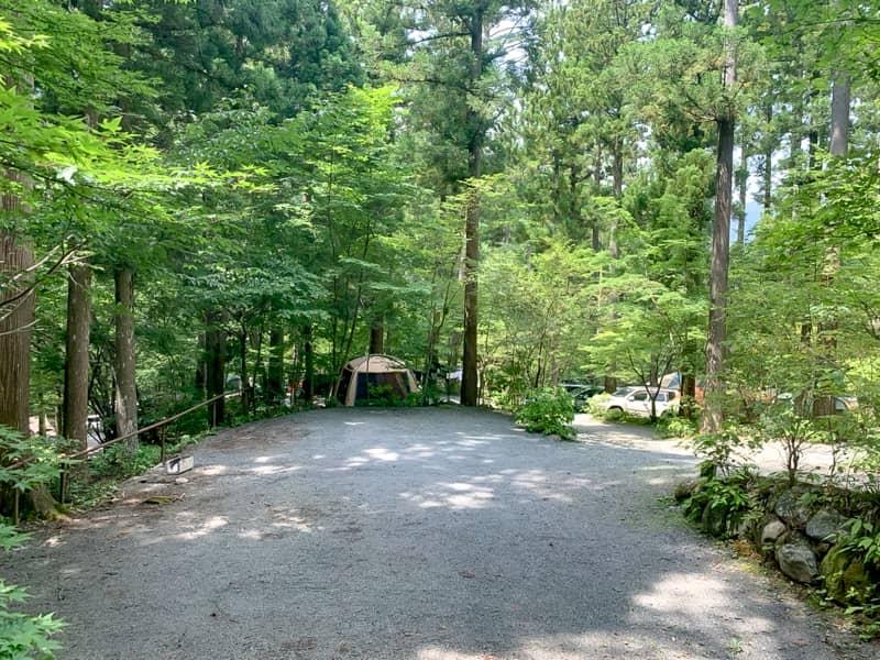 道志村のキャンプ場は昔からキャンプ場を経営しているところが多く