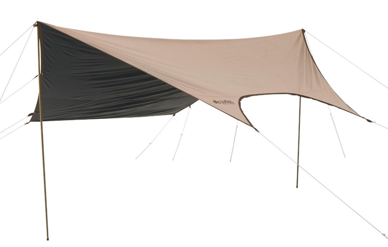 LOGOSからまたスゴイUVカットシリーズが出た!テントにフィットするヘキサタープ登場!