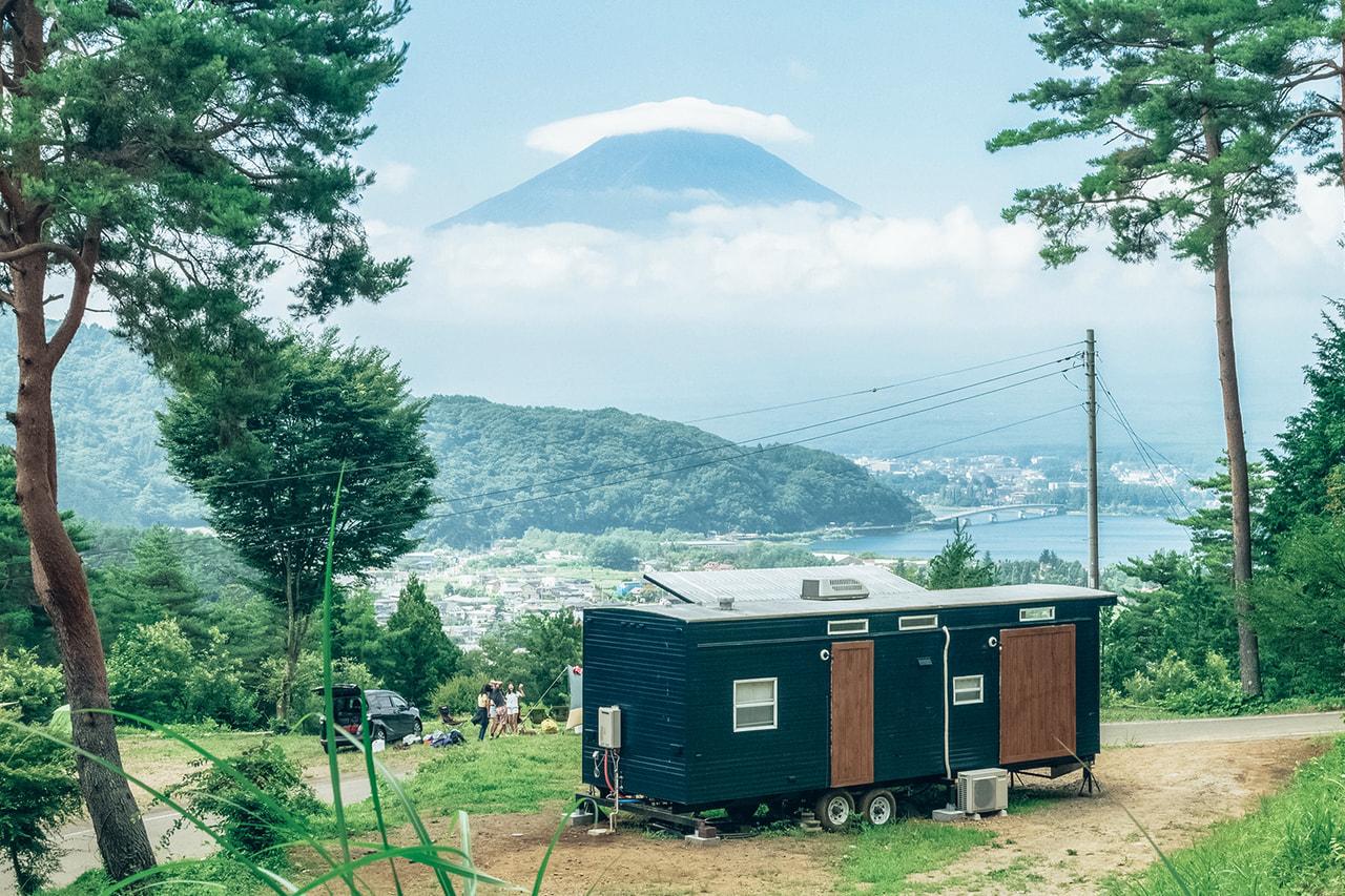 全室富士山ビュー!RetreatCamp まほろばの個性豊かなコテージ・テントで癒しキャンプ