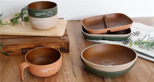【可愛くてほっこり】キャンプやピクニックでも映えるウッド調の食器が北欧ブランドから新登場!