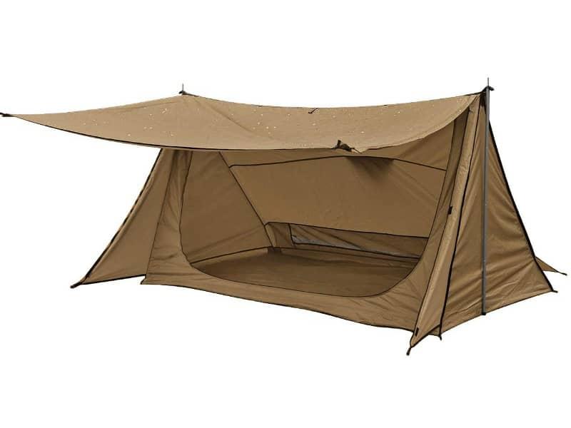 アンリックのテント