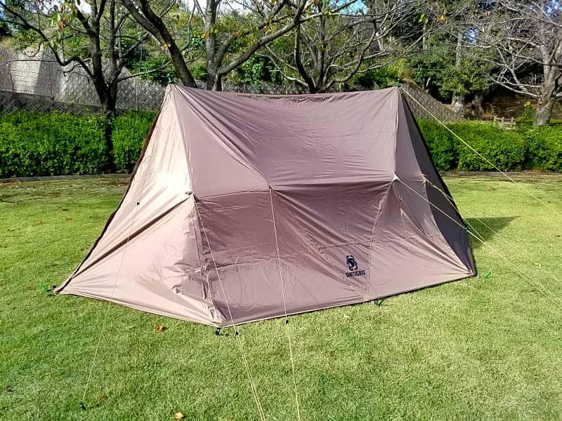 ワンティグリスのテント
