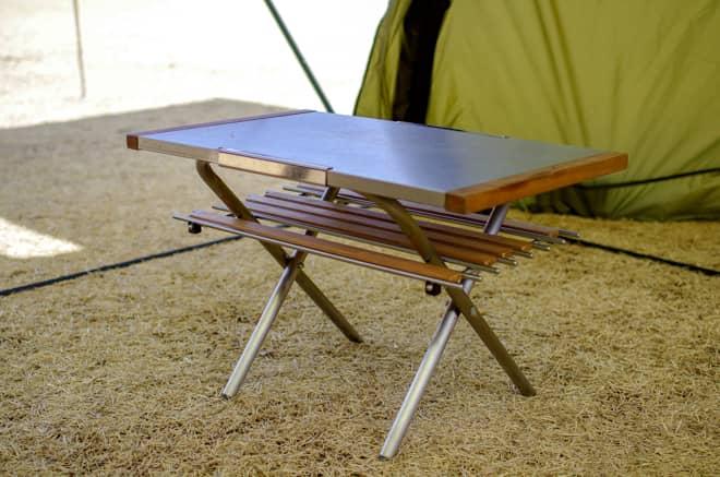 この手のサイズのテーブルは