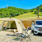 札幌のスキー場でキャンプ体験!ばんけいキャンプフィールドで夏期キャンプ開始