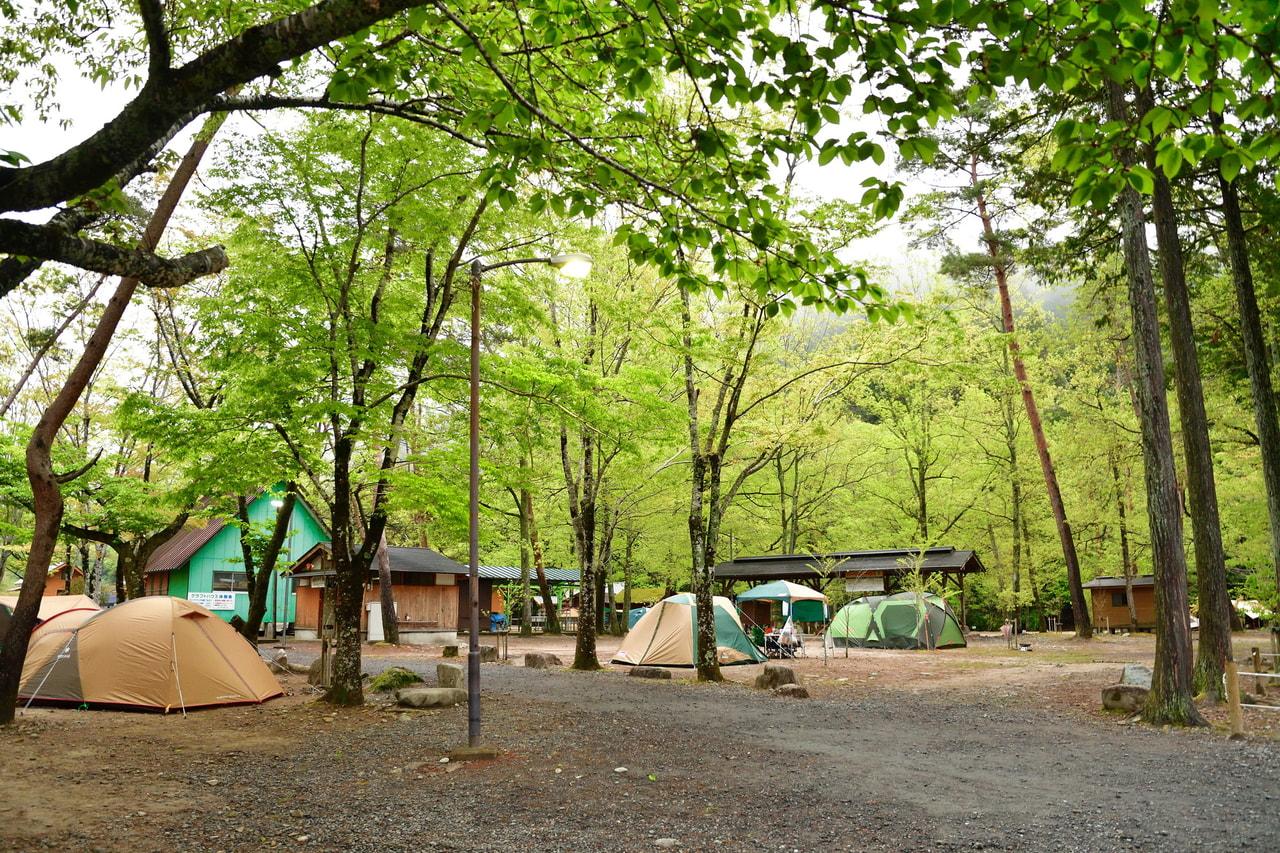 クオーレふれあいの里キャンプ場