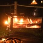 水門メーカーが焚き火台を作る?BOX型メッシュ式焚き火台の秘密はステンレスにあり!