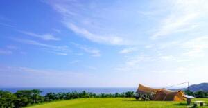長崎県「中瀬草原キャンプ場」で海と羊を眺めながら非日常キャンプを満喫