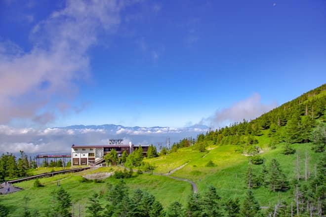 八ヶ岳連峰で唯一ロープウェイがある山「北横岳」