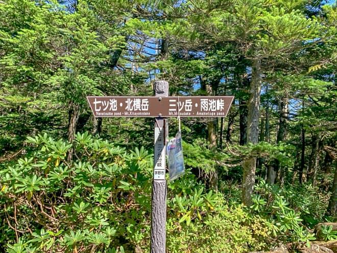 北横岳は山頂までの距離が短いこともあり