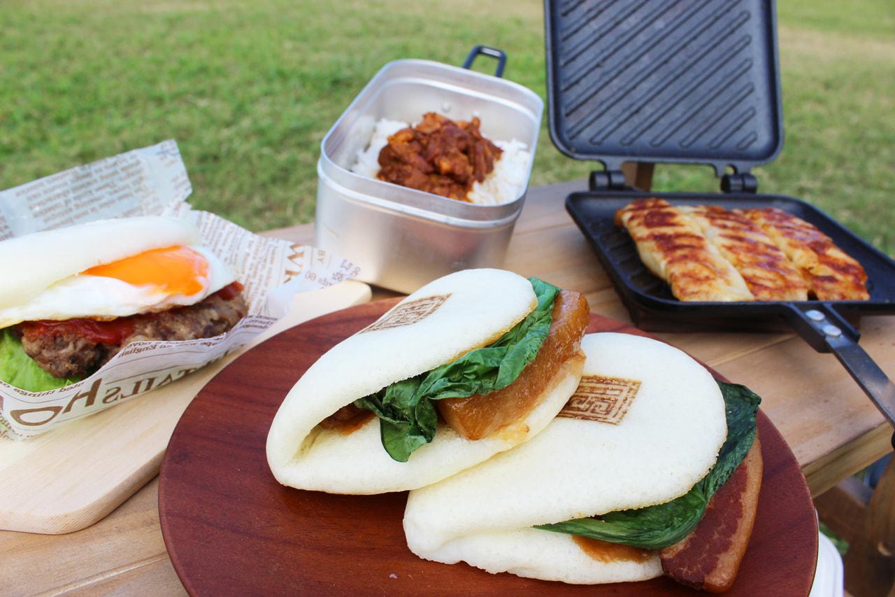 キャンプ飯に長崎角煮まんじゅうはいかが?「お一人様用キャンプ飯セット」が10月限定販売!