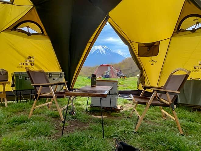 相手の好きなテントを選んでみよう