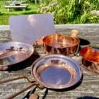 銅で作ると飯が美味い?純銅のキッチンギアでキャンプ料理をスタイリッシュに楽しむ