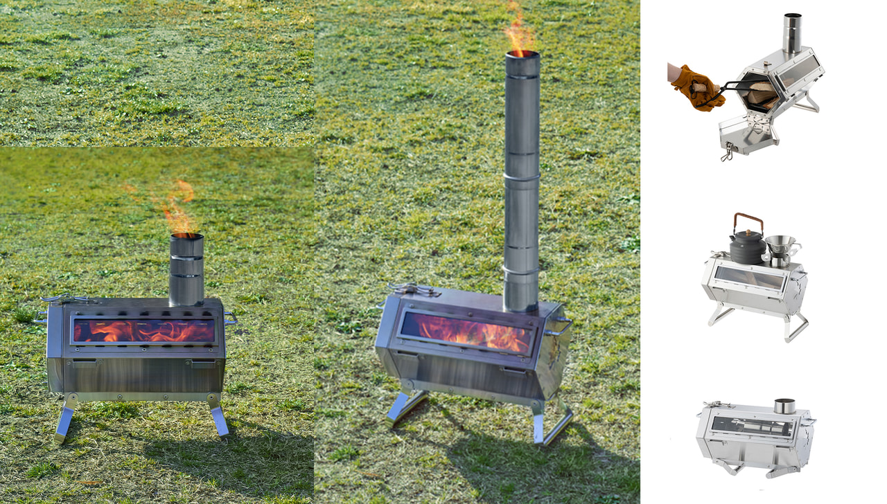薪ストーブをもっと手軽に!ロゴスの小型薪ストーブは冬キャンプデビューにぴったり