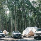 メルセデス・ベンツがアウトドアイベント!?キャンプとオフロード走行が両方楽しめる!