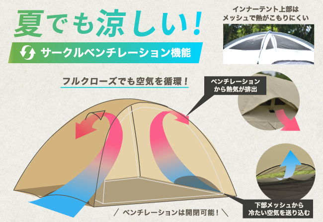 PARTY DOME テント (13)