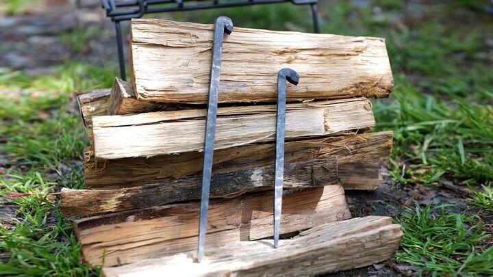 男心くすぐる無骨デザイン!京都の鍛冶師が作った純和風の鍛造ペグが販売開始
