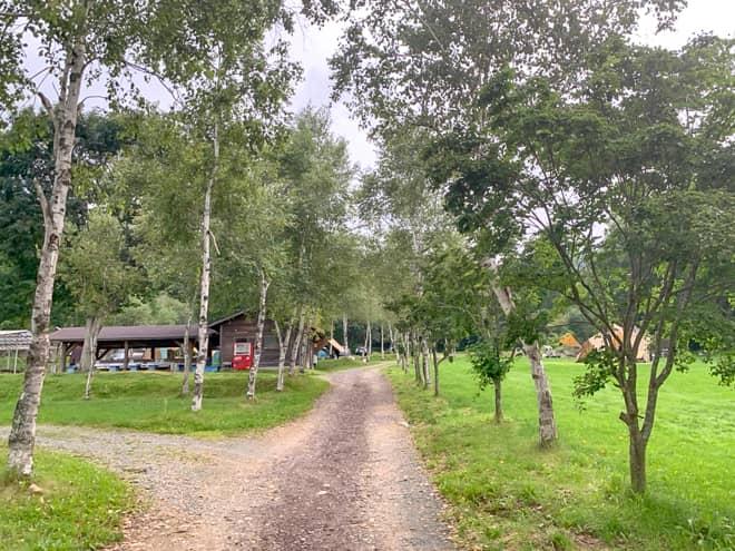 「菅平高原ファミリーオートキャンプ場」の施設案内