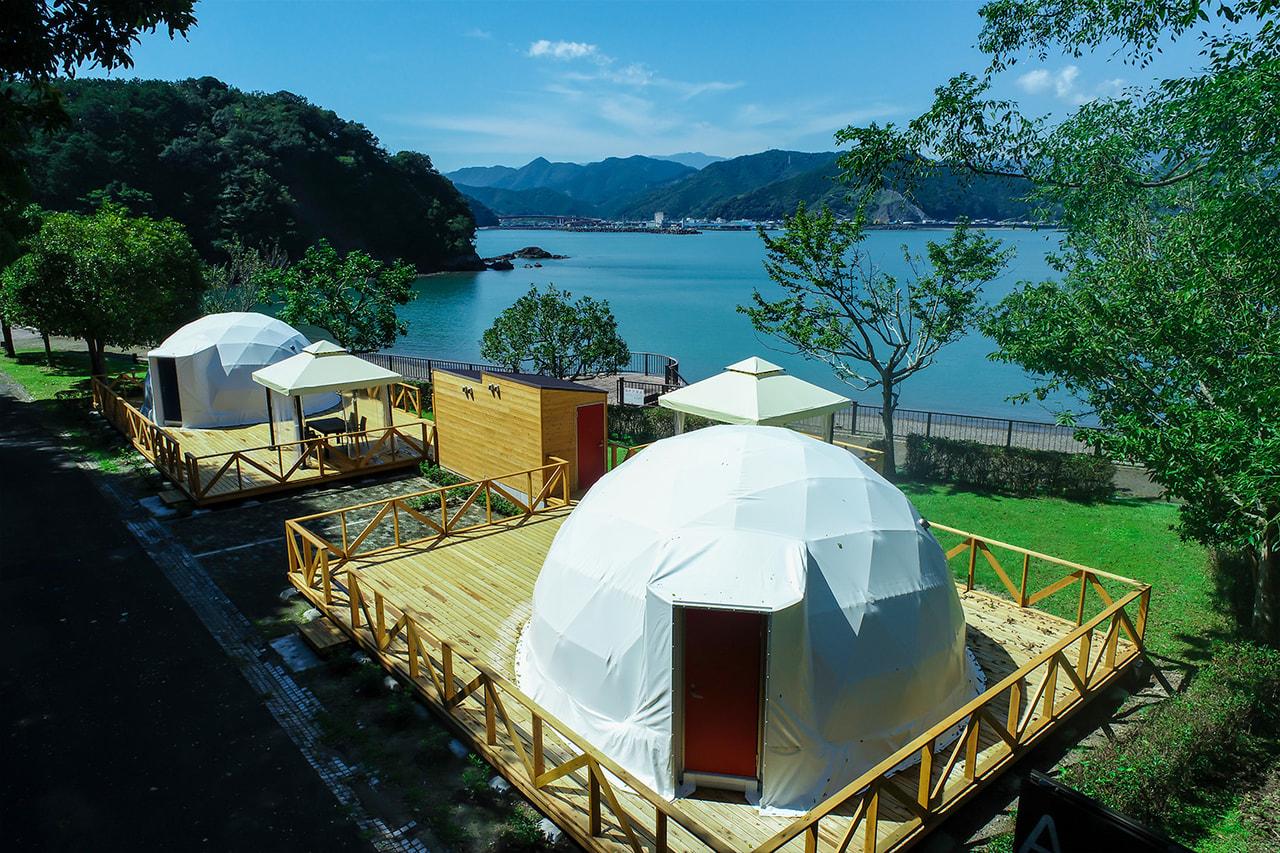 2021年10月、三重 熊野エリアに2棟限定の「シーサイドテラス グランピングドーム熊野灘」がオープン!
