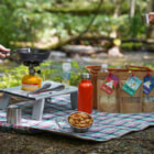 キャンプでおかきを焼いて食べる!創業98年のおかき屋の「CAMP de OKAKI」が販売開始!