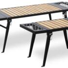 デザイン性抜群!使い勝手も優秀なアウトドアテーブルが発売開始