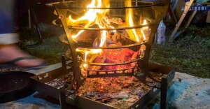 TRIPATH PRODUCTSの人気焚き火台「グルグルファイヤー」はおしゃれ過ぎるデザインに魅了されます