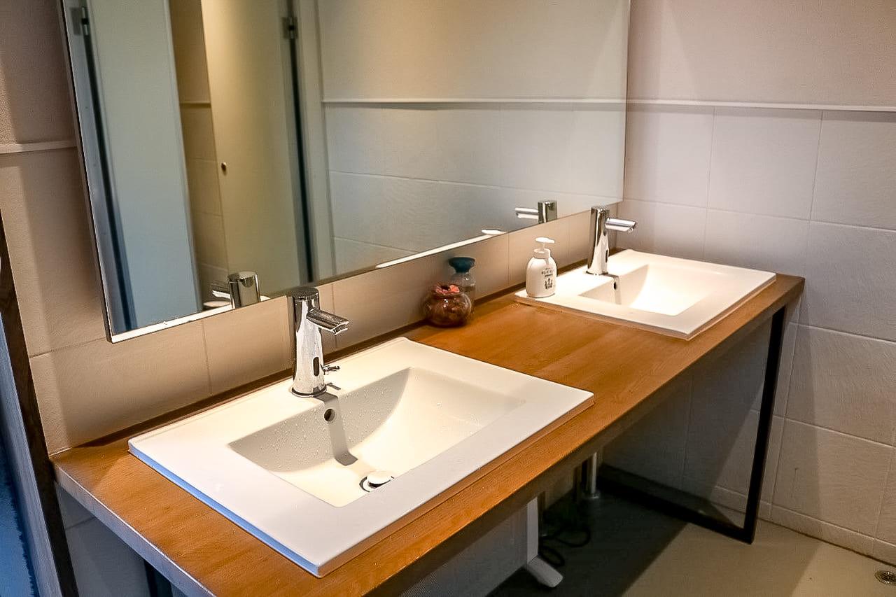 /KARUIZAWA-CAMP-GOLDのトイレ